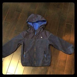 Carters size 7 boys fleece zip up hoodie